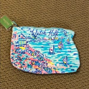 Lily Pulitzer Destination Pouch WATCH HILL NEW W/T